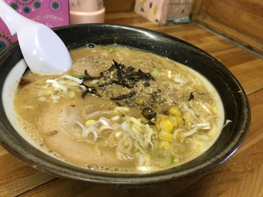 川町元気ラーメン2017年15日味噌ラーメン