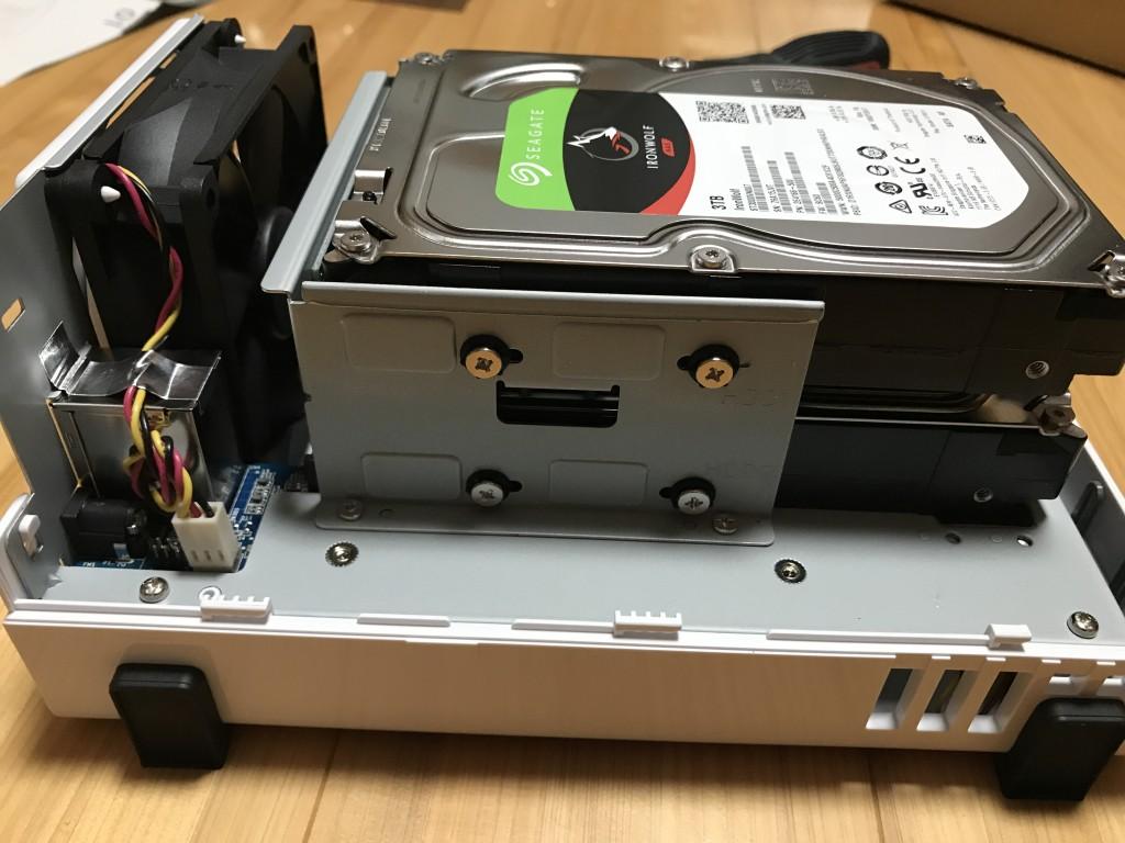 日向市のパソコン修理 NASの導入の様子