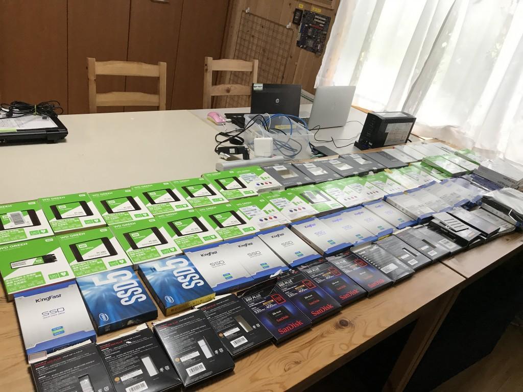 SSD交換したもの