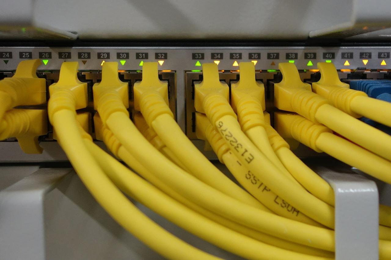 LAN構築 イーサネットケーブル